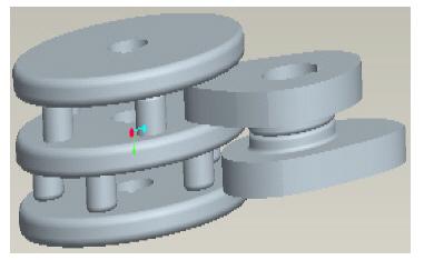 引用 平行分度凸轮机构设计专家系统的开发及三维运动仿真 - 1982616y